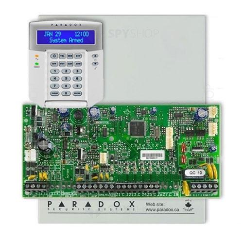 Centrala alarma antiefractie Paradox Spectra SP 5500+K32LCD+