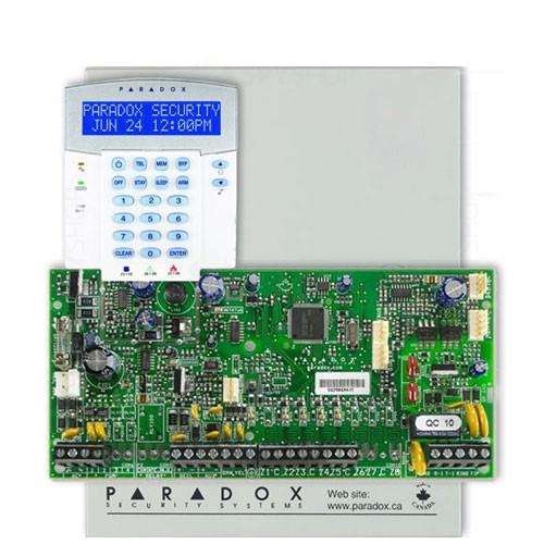Centrala alarma antiefractie Paradox Spectra SP 5500+K32LX