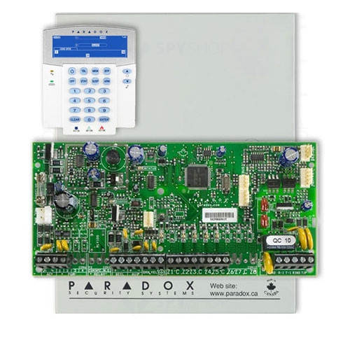 Centrala alarma antiefractie Paradox Spectra SP 5500+K35