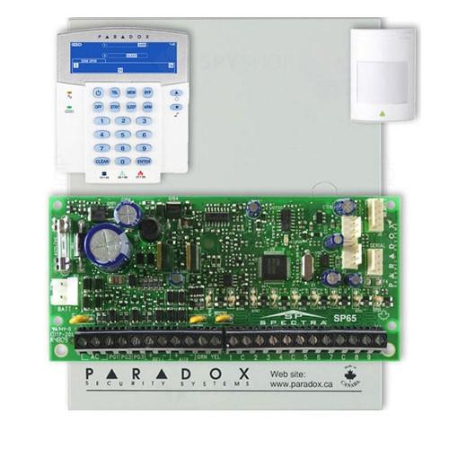 Centrala alarma antiefractie Paradox Spectra SP 65+K35