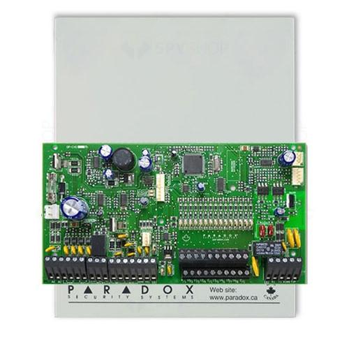 Centrala alarma antiefractie Paradox Spectra SP7000, carcasa metalica cu traf, 16 zone, 2 partitii