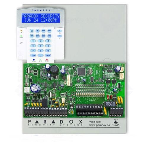 Centrala alarma antiefractie Paradox Spectra SP 7000+K32LX