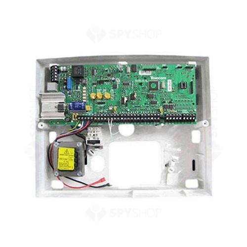 Centrala alarma antiefractie Texecom Premier 888 cu carcasa si traf, 8 partitii, 8 zone, 50 utilizatori