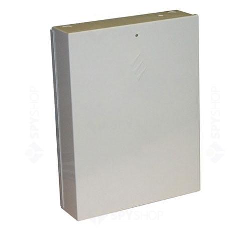 Centrala alarma antiefractie Texecom Premier 640 cu carcasa metalica si traf, 16 partitii, max 640 zone, 200 utilizatori