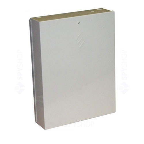 Centrala alarma antiefractie Texecom Premier 8168 cu carcasa si traf, 16 partitii, 8 zone, 100 utilizatori