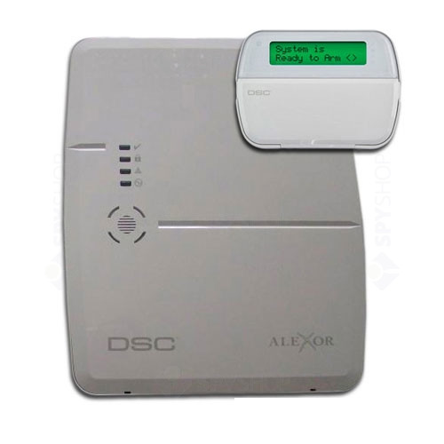 Centrala alarma antiefractie wireless DSC Alexor
