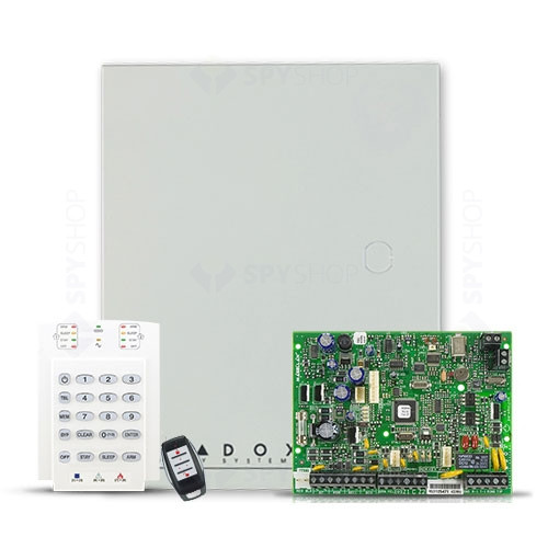 Centrala alarma antiefractie wireless Paradox Magellan MG 5000+K10+REM1