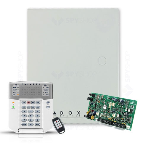 Centrala alarma antiefractie wireless Paradox Magellan MG 5050+K32+REM1