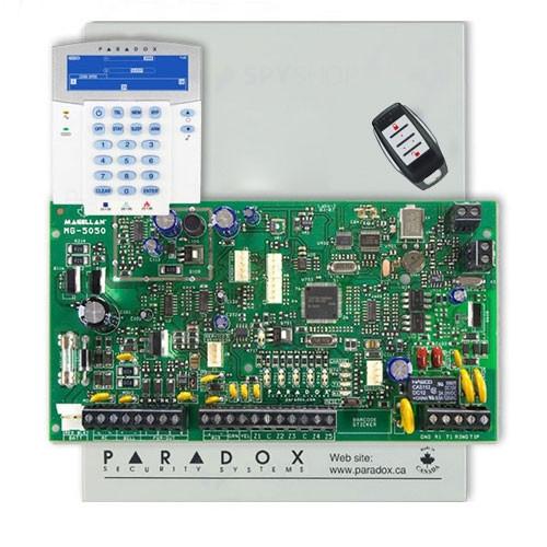 Centrala alarma antiefractie wireless Paradox Magellan MG 5050+K37