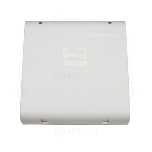 Sistem de control acces pentru o usa unidirectionala Assa Abloy RX WEB 9101IV-1U, 100000 carduri, 13.56 MHz