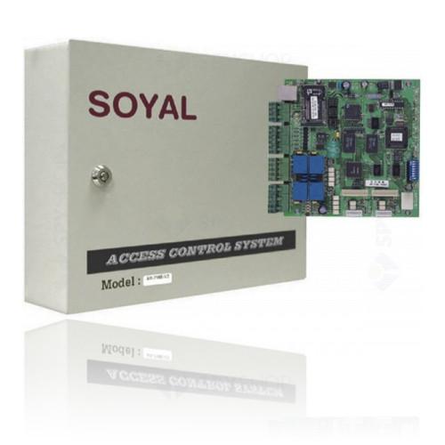 Centrala control acces Soyal AR-721E-DIP~NEW!, 512 kb, 10-24 V