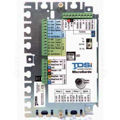 Centrala control acces TDSI 4165-2502 MICROGARDE II
