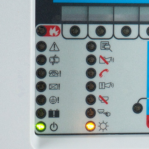 Centrala de incendiu cu 1 bucla FireClass FC501-L