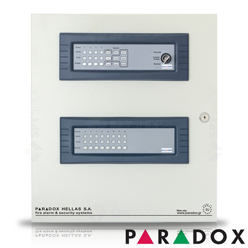 Centrala de incendiu cu 12 zone Paradox Hellas MATRIX PH.MA.012.00