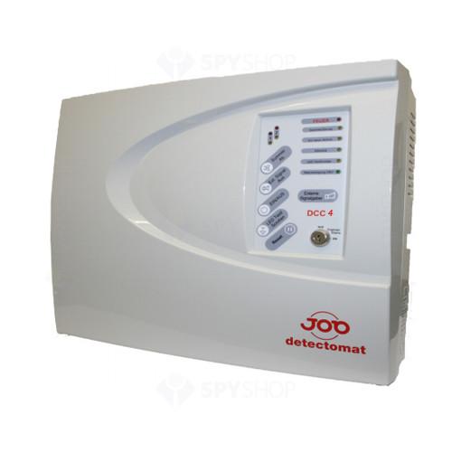 Centrala de incendiu cu 4 zone Detectomat DCC 4 GB