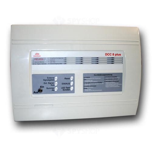 Centrala de incendiu cu 8 zone Detectomat DCC 8 plus GB
