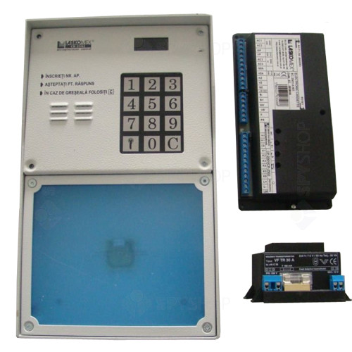 Centrala interfon de bloc Laskomex CD2503/RF2503