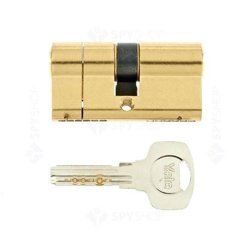 Cilindru break-secure patentat Yale 10-1552-3030-00-0201, 5 chei, 6 pini, alama
