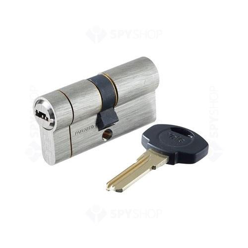 Cilindru break-secure patentat Yale 10-1552-3035-00-22-01, 5 chei, 6 pini, nichel satinat