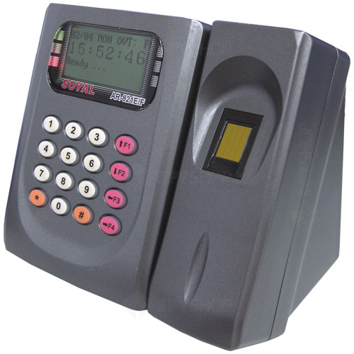 Cititor de proximitate biometric Soyal AR 821EFBI-900MT, 125 KHz, 2250-4500 utilizatori