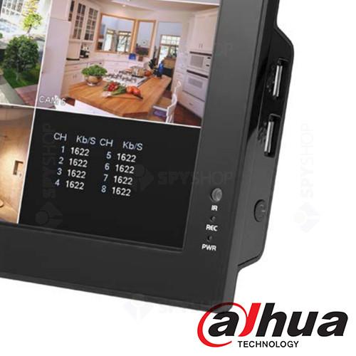 Combo DVR cu 8 canale si LCD Dahua DH-CVR0804-10