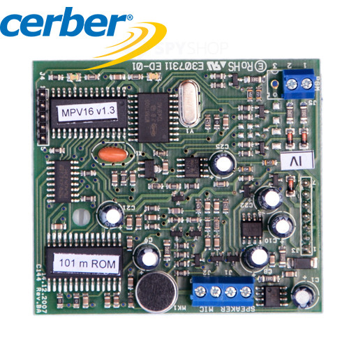 Comunicator vocal Cerber MPV-16/DTMF