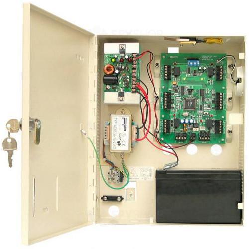 Centrala de acces ROSSLARE AC-215, 5000 utilizatori, 5000 evenimente, 4 intrari/iesiri