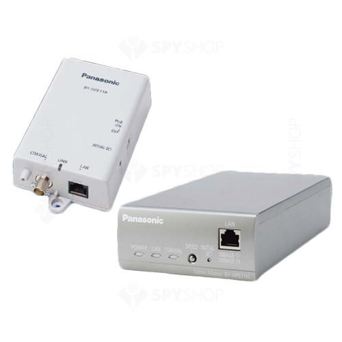 Convertoare coaxial-LAN cu PoE Panasonic BY-HPE11KT