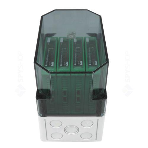 Cutie mica montaj module DIN HOCHIKI SMB-3