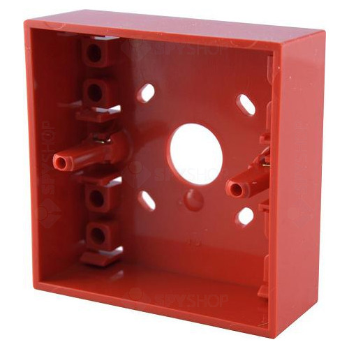 Cutie montaj rosie pentru butoane SR