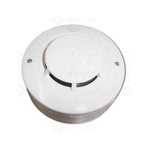 Detector de fum cu 2 fire wizMart NB-326S - 2, LED dual, 360 grade, 2 fire