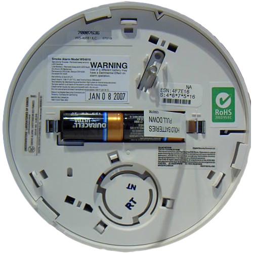 Detector de fum wireless DSC WS-4916