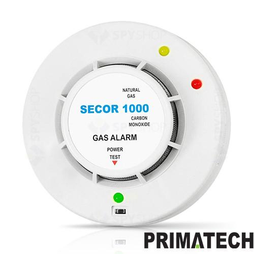 Detector de gaz metan si monoxid de carbon Primatech SECOR 1000 / 24V