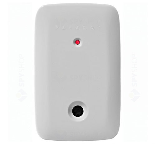 Detector de geam spart wireless Paradox G550, 6 m, 360°, protectie EMI/RFI