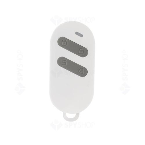 Contact magnetic standalone cu telecomanda pentru usi/ferestre KR-D2, wireless, 4 zone, 90 dB