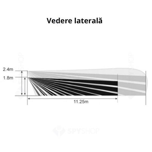 Detector de miscare digital Quad PIR si MW DSC LC 104PIMW, 15 m, 85°, pet immunity