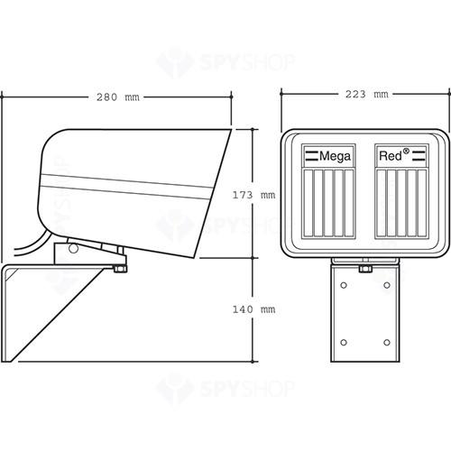 Detector de miscare exterior IP Redwall LRP180QH