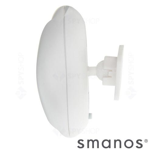 Detector de miscare PIR de tip perdea wireless Smanos MD8000