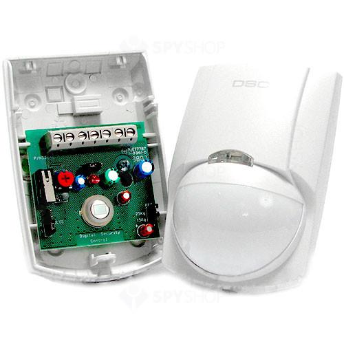 Detector de miscare digital Quad PIR DSC LC 100PCI, 15 m, 90°, pet immunity