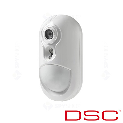 Detector de miscare wireless PIR cu camera video DSC PG-8934