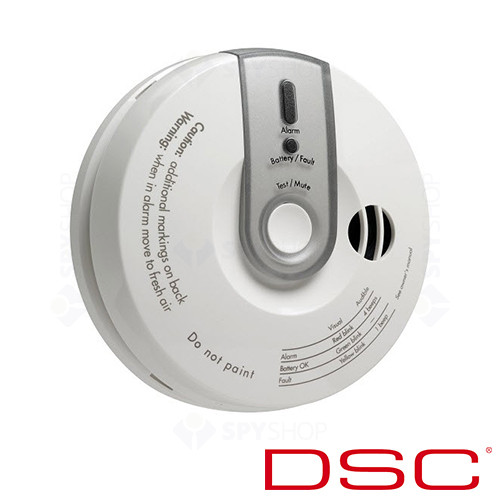 Detector de monoxid de carbon wireless DSC PG-8913
