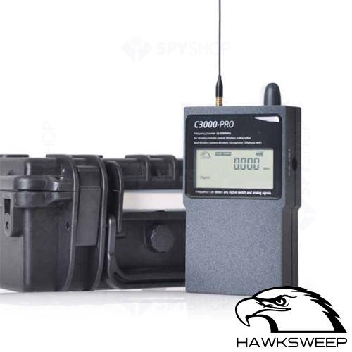 Detector RF profesional Antispionaj Hawksweep HS-3000Pro