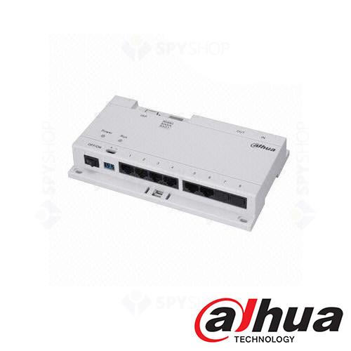 Distribuitor PoE cu 8 porturi Dahua DH-VTNS1060A