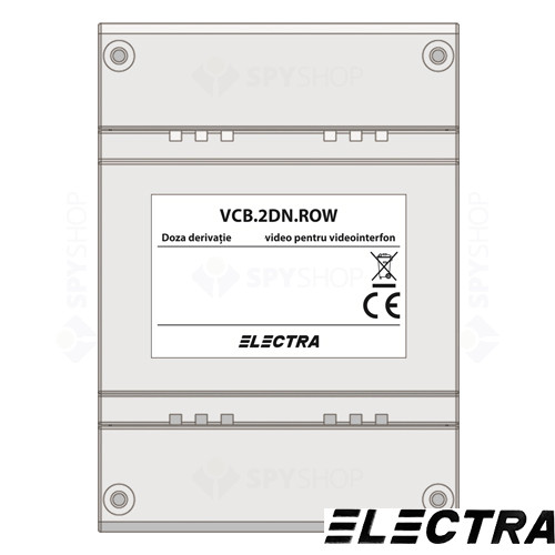 Doza derivatie video Smart Electra VCB.2DN.ROW