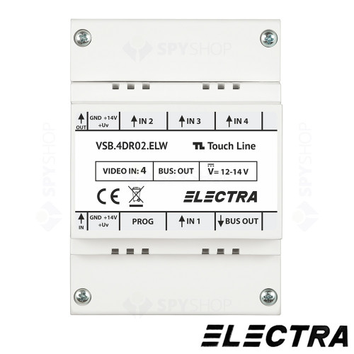 kit-videointerfon-3-familii-touch-line-smart-electra-vkm-p3fr-t7s4-elw