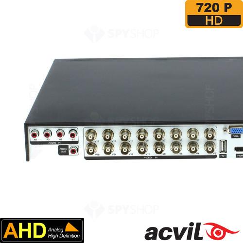 DVR AHD cu 16 canale video Acvil AHD-5116