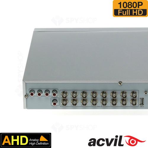 DVR AHD cu 16 canale video Acvil AHD-5216