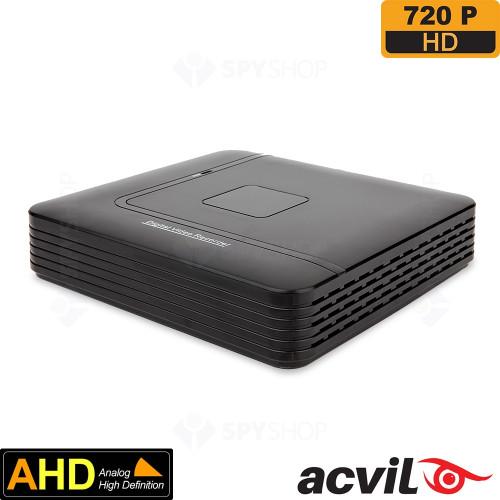 SISTEM SUPRAVEGHERE EXTERIOR AHD CU 8 CAMERE VIDEO ACVIL AHD-8EXT30-720P