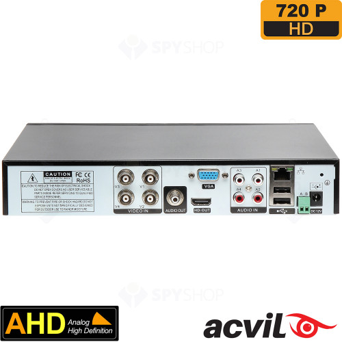 DVR AHD cu 4 canale video Acvil AHD-5104