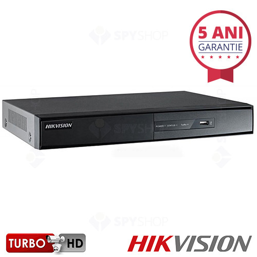 DVR cu 8 canale Turbo HD Hikvision DS-7208HQHI-F2/N